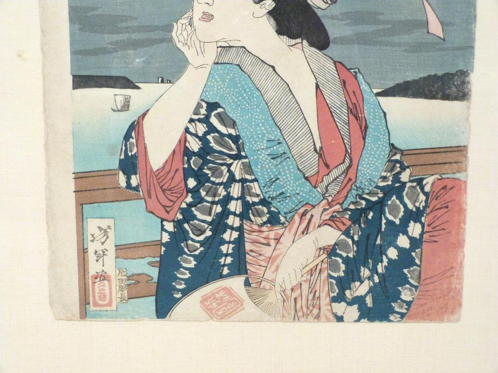 Japanese Woodblock Print - 3