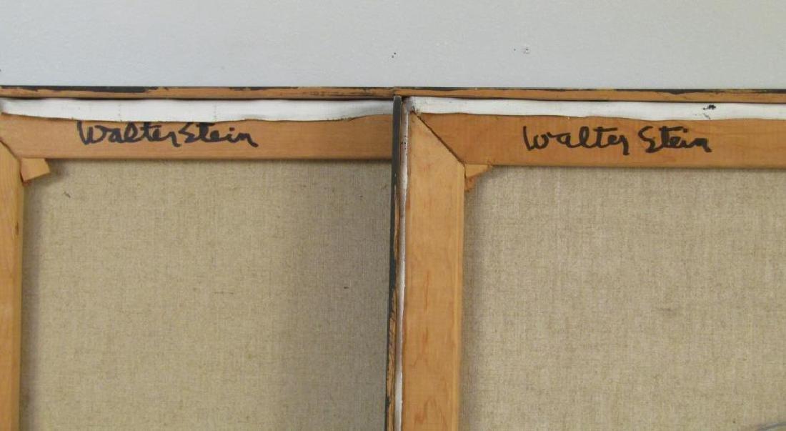 Walter Stein - 2 Oils on Canvas - 4