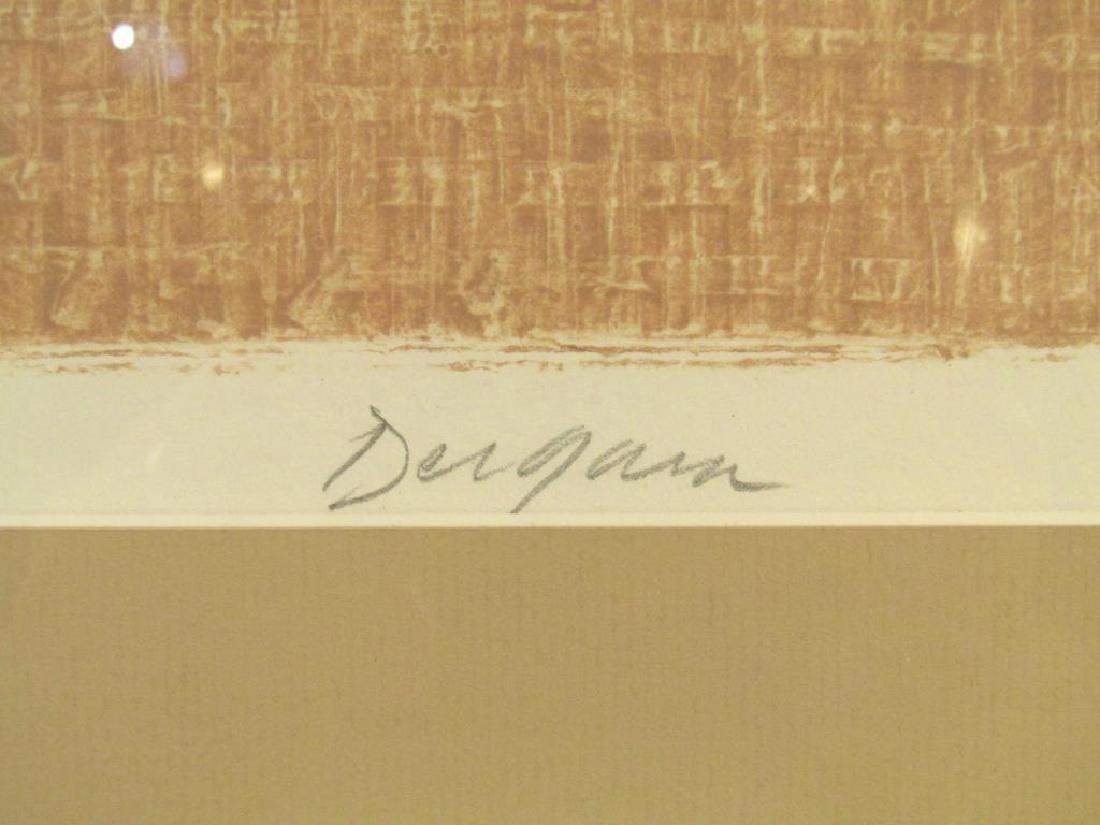 Signed Dergam - Lithograph - 4