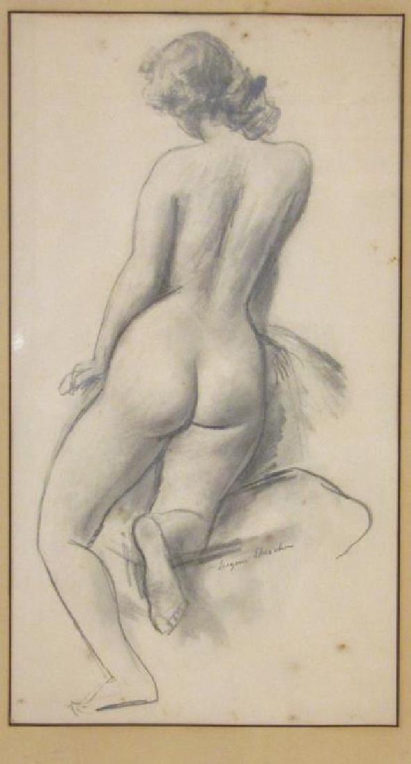 Eugene Speicher (American 1883-1962) - Pencil