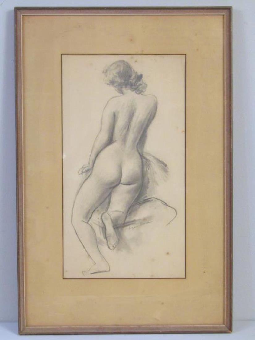 Eugene Speicher (American 1883-1962) - Pencil - 2