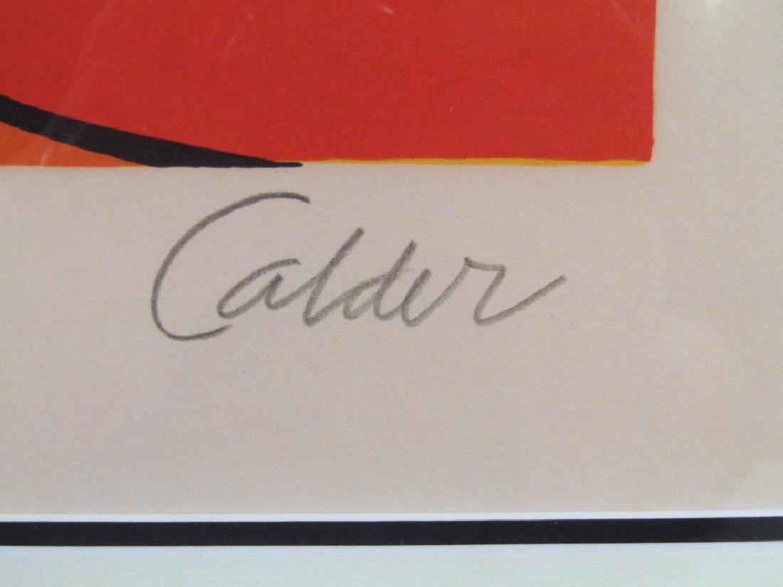 After Calder - Lithograph - 3