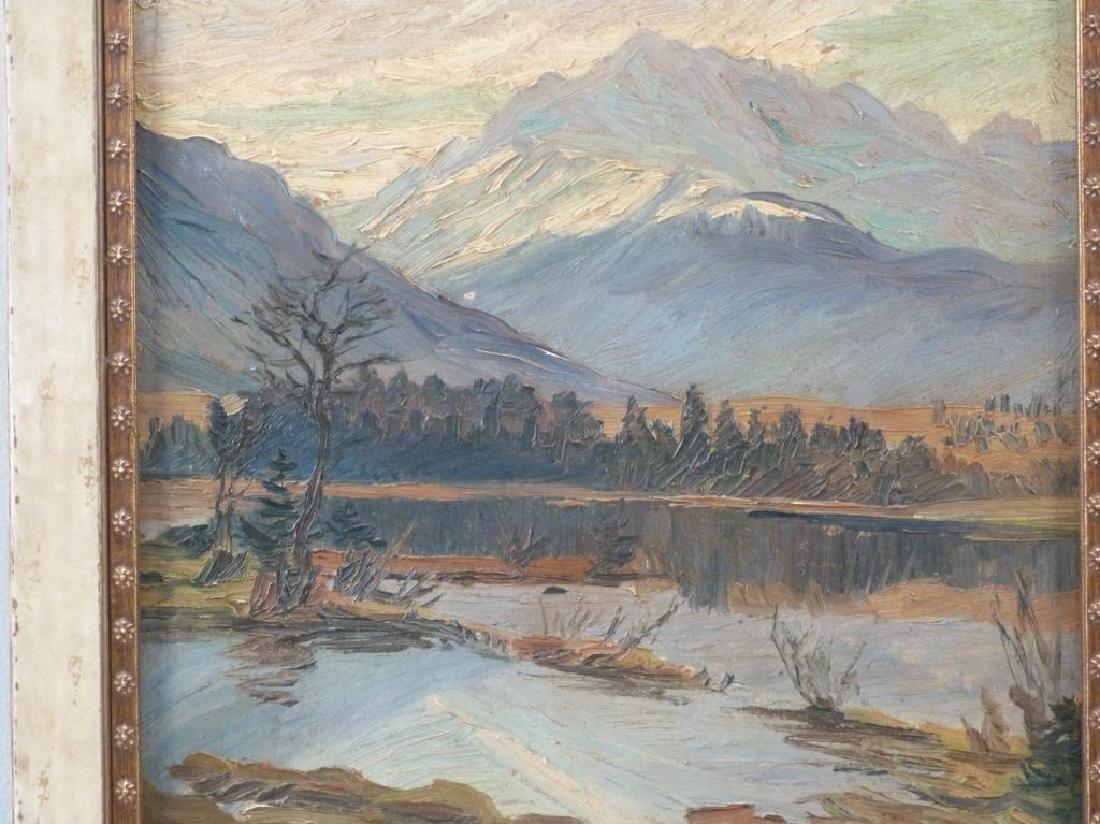 Hanns Diehl (1877 - 1946) - Oil on Board - 3