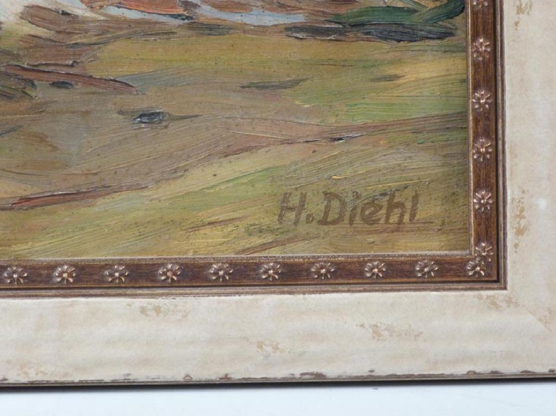 Hanns Diehl (1877 - 1946) - Oil on Board - 4