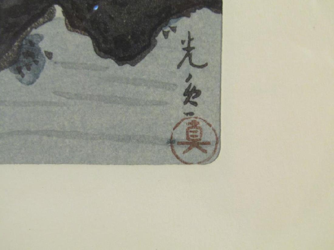 2 Chinese Woodblock Prints - 4