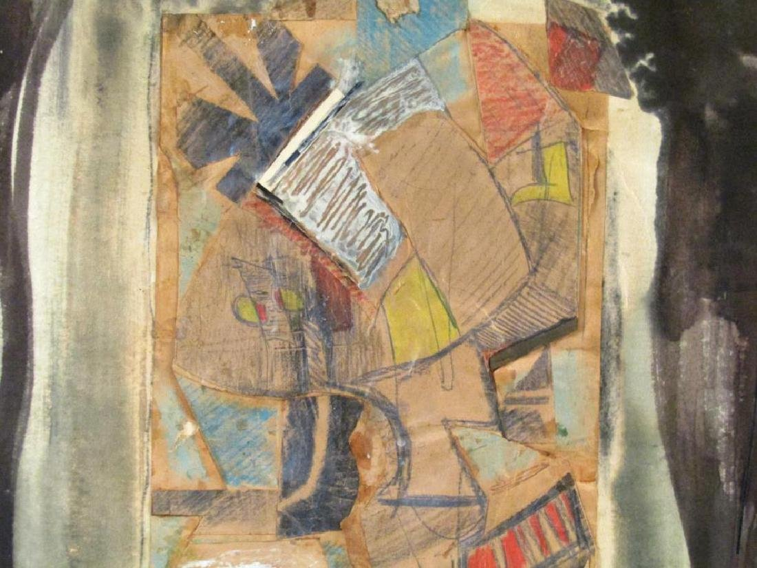 Richard Ott (American, 1935)- Mixed Media on Paper - 3