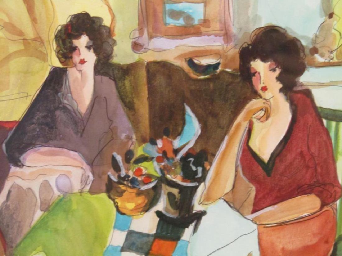 Itzchak Tarkay (1935-2012) - Watercolor on Paper - 3