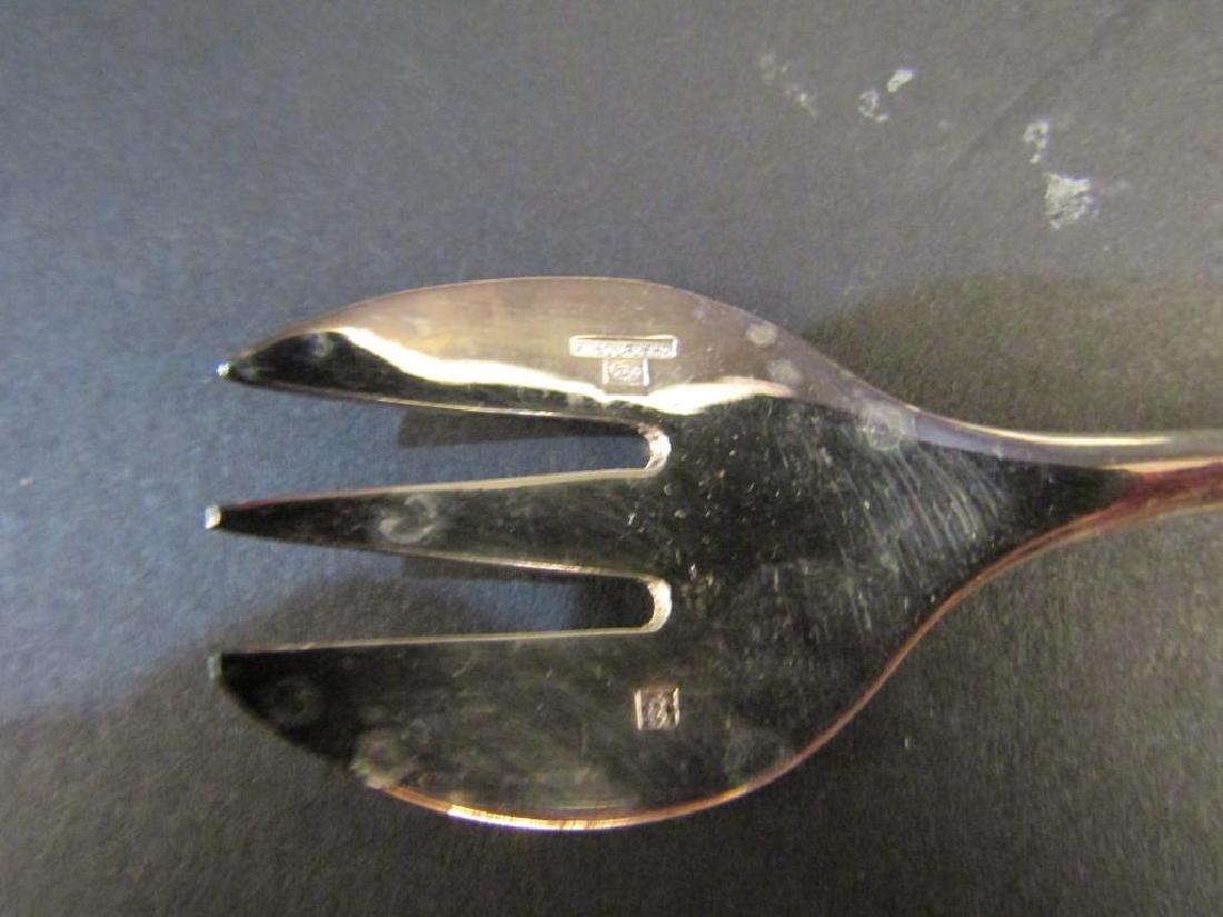 Set of 12 Christofle Scoop Forks - 3
