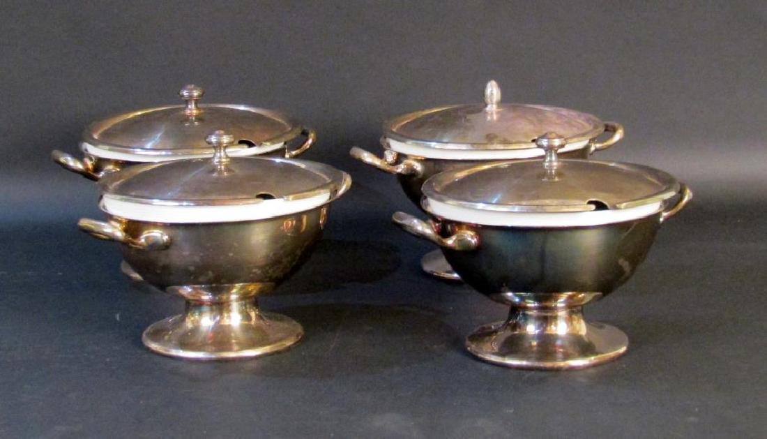 Set of 4 Thomas Rosenthal Personal Tureens