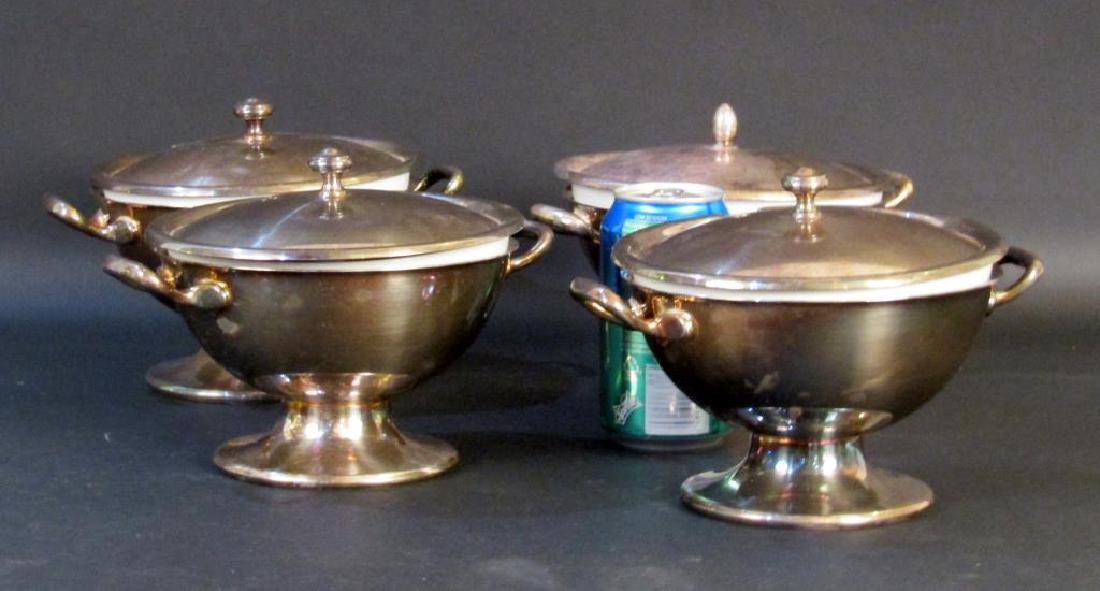 Set of 4 Thomas Rosenthal Personal Tureens - 5