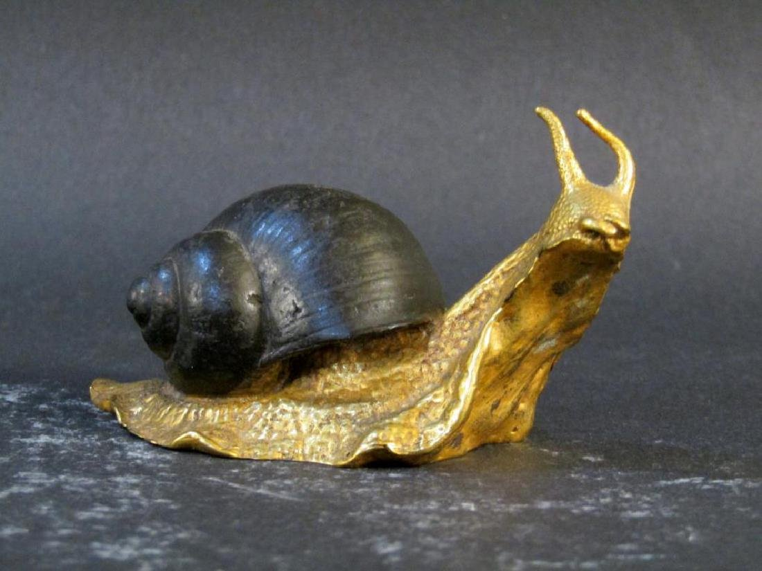 P.E. Guerin Snail and Venetian Glass Decoration - 2
