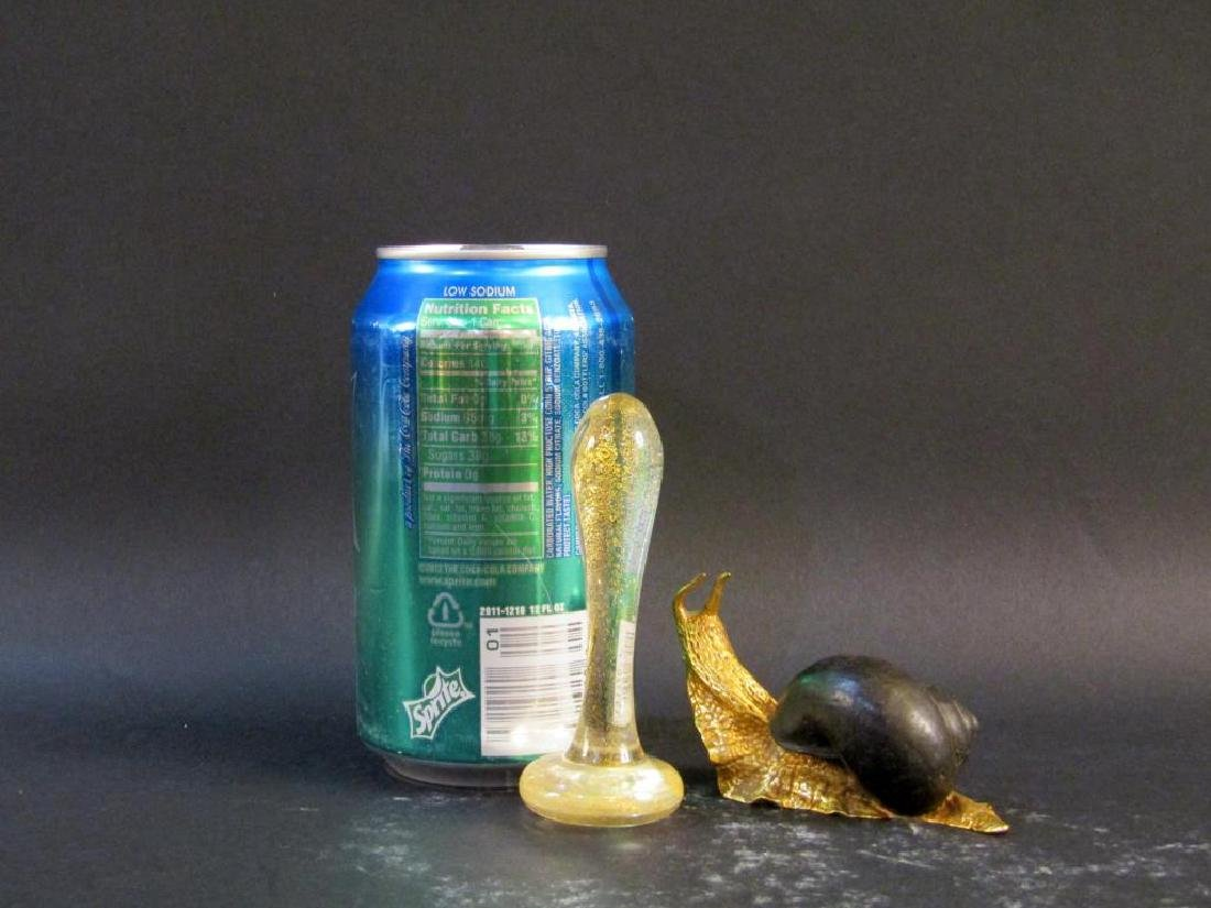 P.E. Guerin Snail and Venetian Glass Decoration - 4