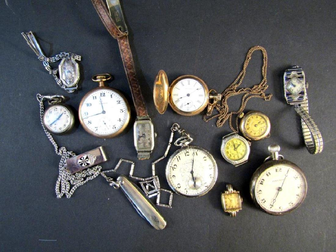 Assorted Wrist and Pocket Watches (As is)