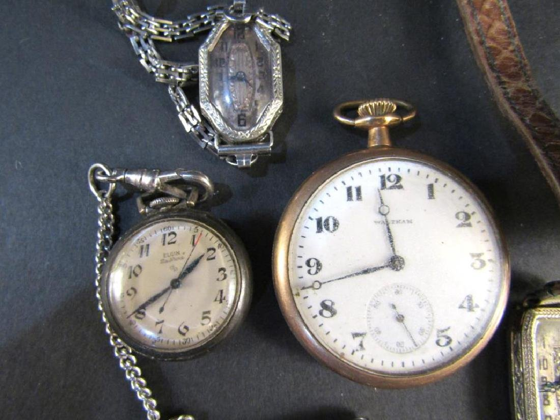 Assorted Wrist and Pocket Watches (As is) - 2