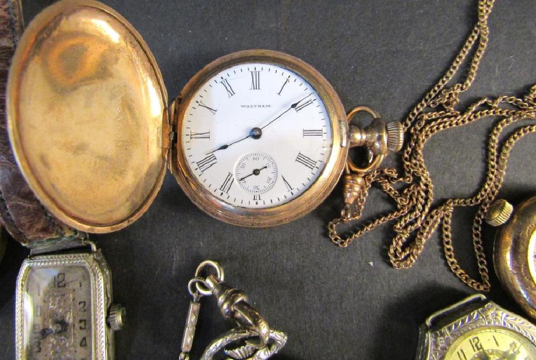 Assorted Wrist and Pocket Watches (As is) - 4