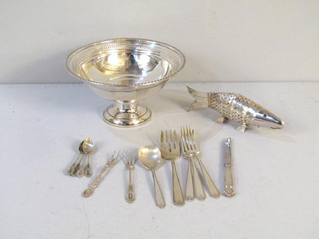 Assorted Sterling and Silver Articles
