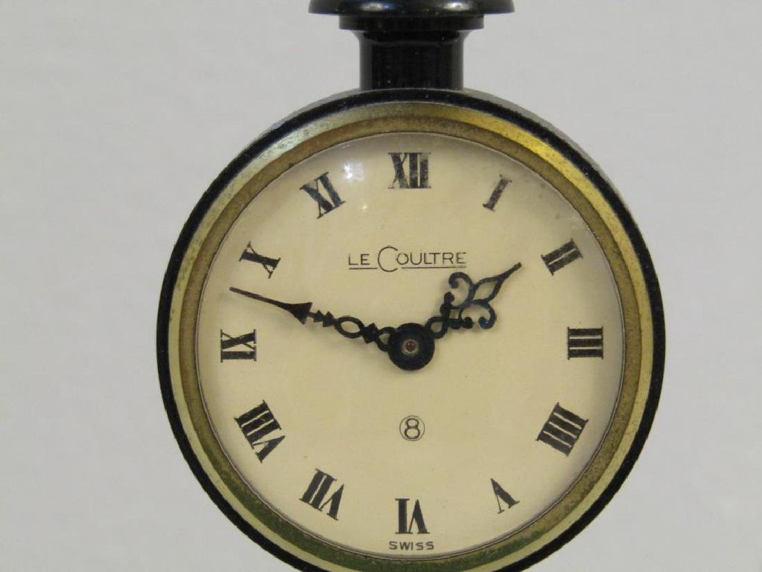 Le Coultre Miniature Lamppost Clock - 3