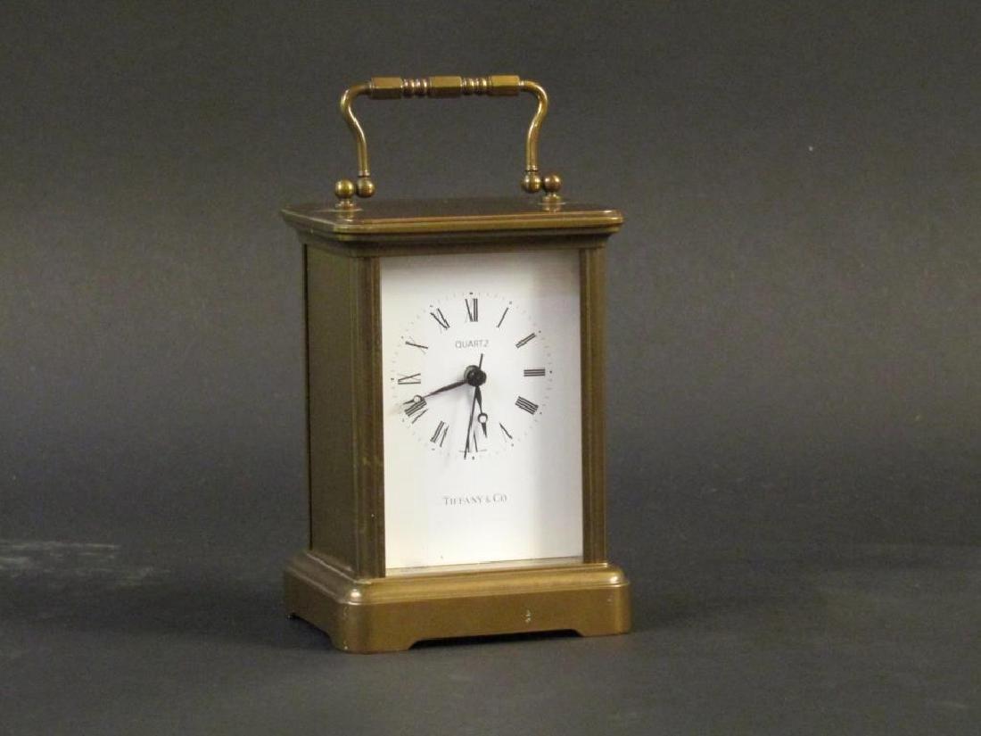 Tiffany Clock and Bulova Clock