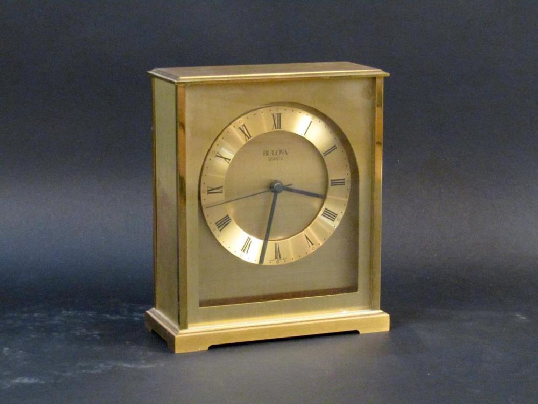 Tiffany Clock and Bulova Clock - 2