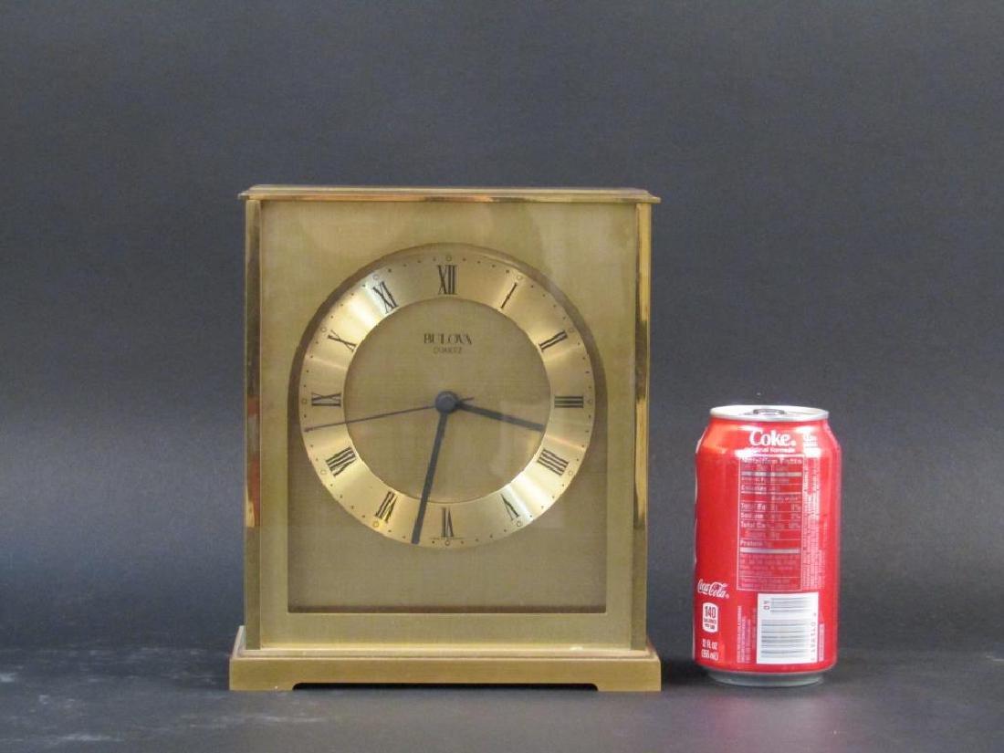 Tiffany Clock and Bulova Clock - 5