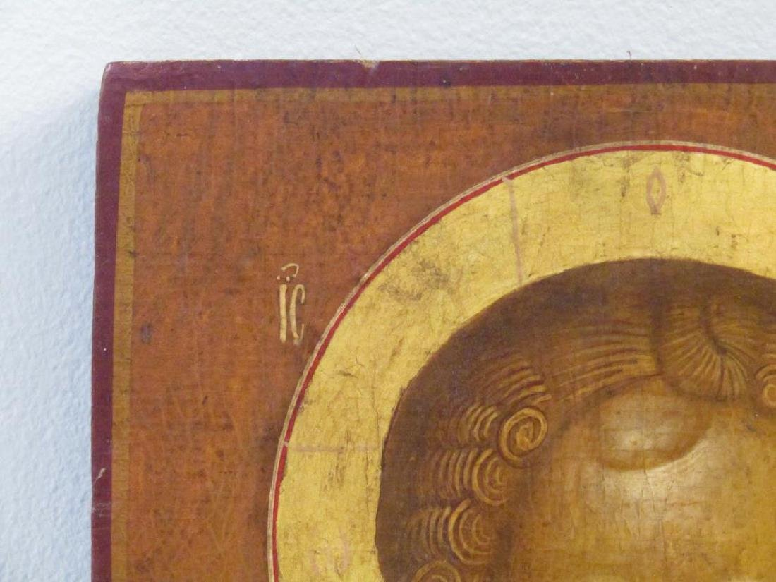 Painted Wood Icon - 2