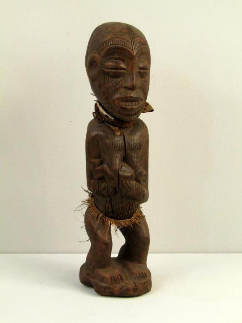 African / Ethnographic Carved Wood Figure