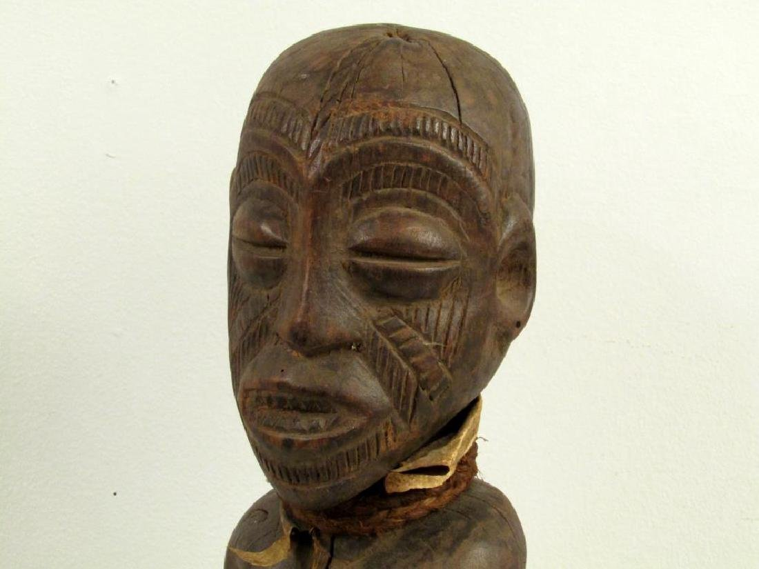 African / Ethnographic Carved Wood Figure - 2