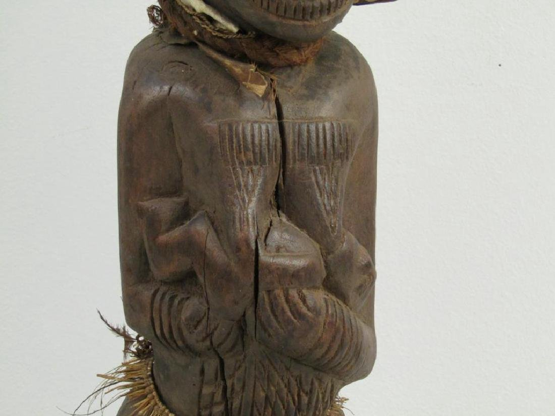 African / Ethnographic Carved Wood Figure - 3