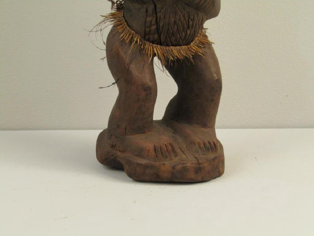 African / Ethnographic Carved Wood Figure - 4