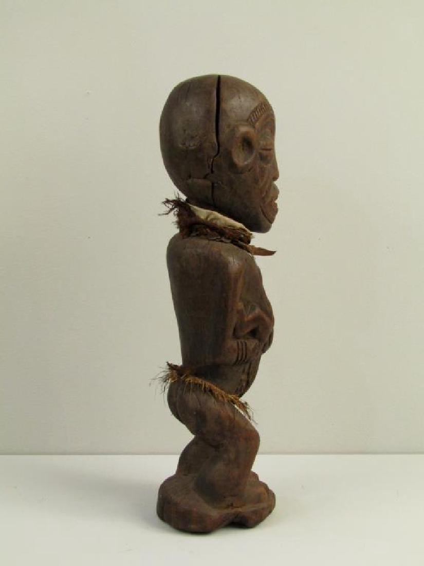 African / Ethnographic Carved Wood Figure - 5