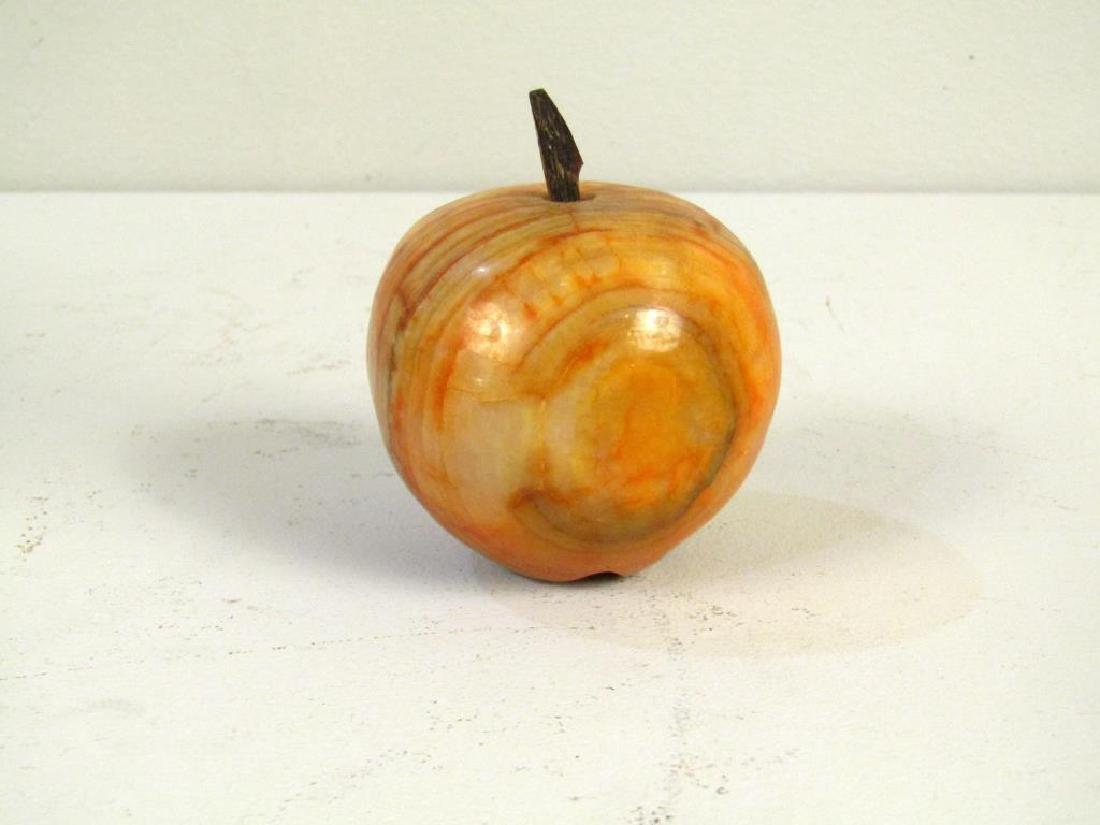 Decorative Marble Fruit, Bowl and Ashtray - 2