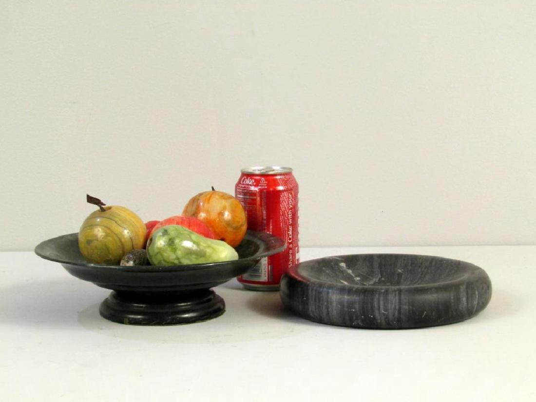 Decorative Marble Fruit, Bowl and Ashtray - 3