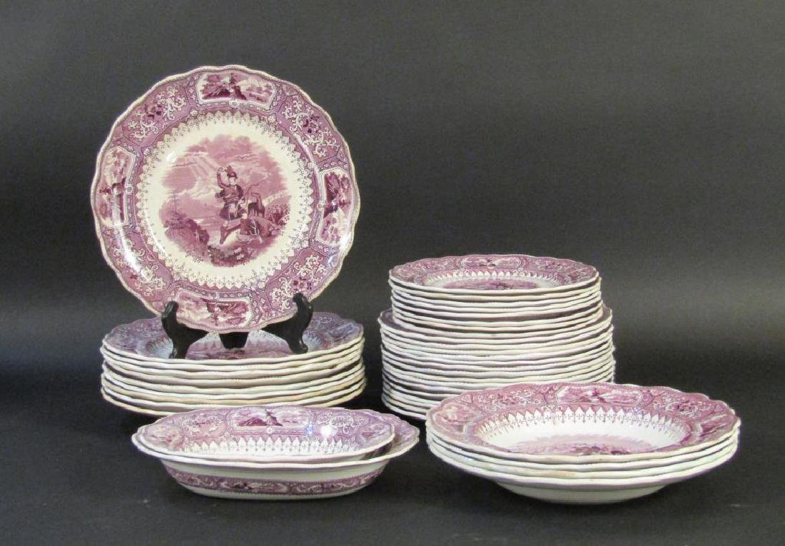 30+ Piece Colonia Parital Dinner Set