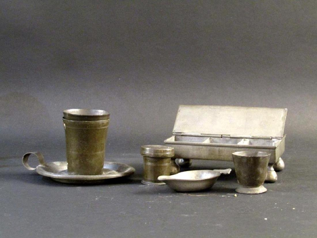 Assorted Pewter and Other Metal Articles - 4