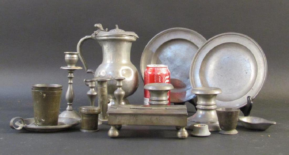 Assorted Pewter and Other Metal Articles - 5