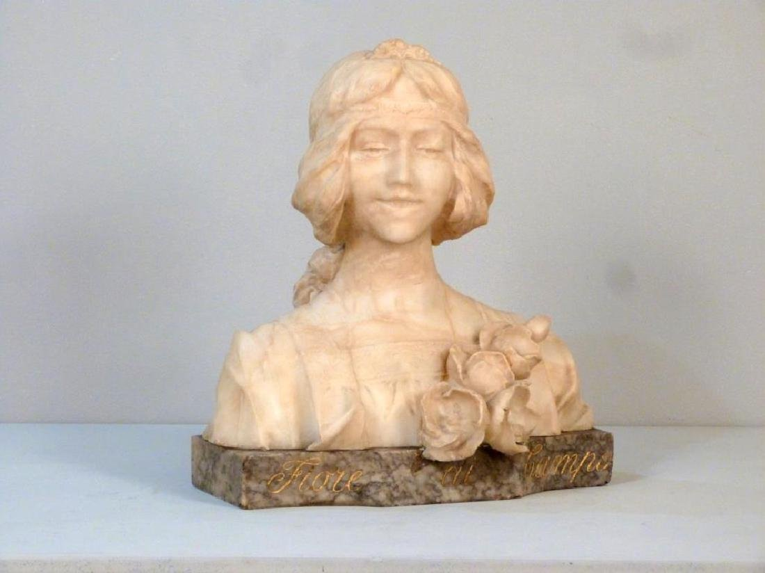Italian Marble Bust (As is)