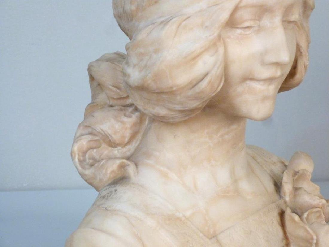 Italian Marble Bust (As is) - 4