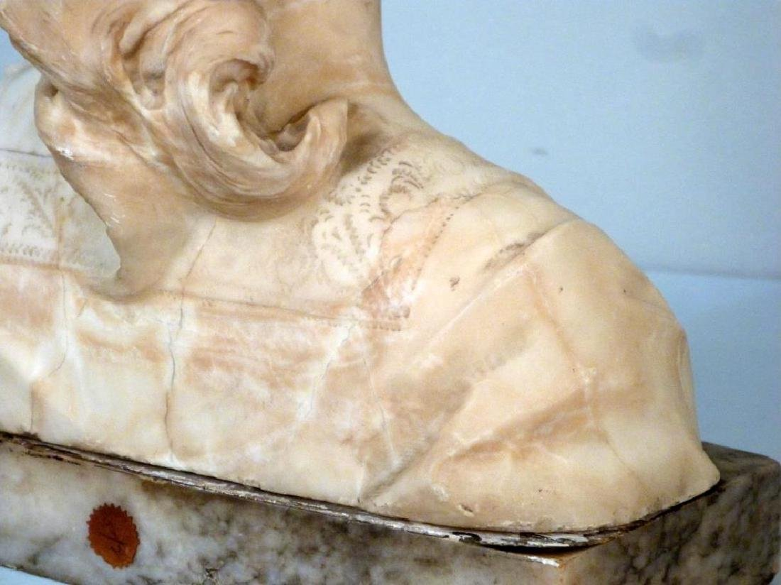 Italian Marble Bust (As is) - 5
