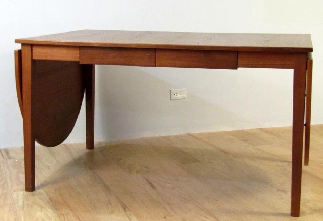 Danish Walnut Partners Desk / Dining Table