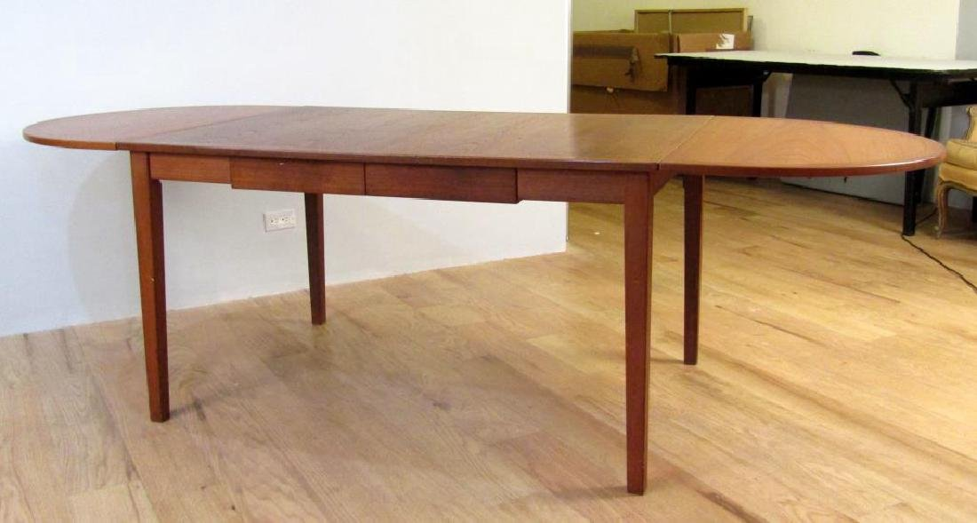Danish Walnut Partners Desk / Dining Table - 2