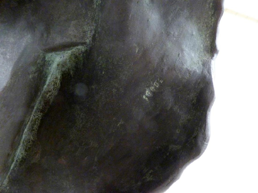 A. Falquiere - Bronze Bust of Diana - 8