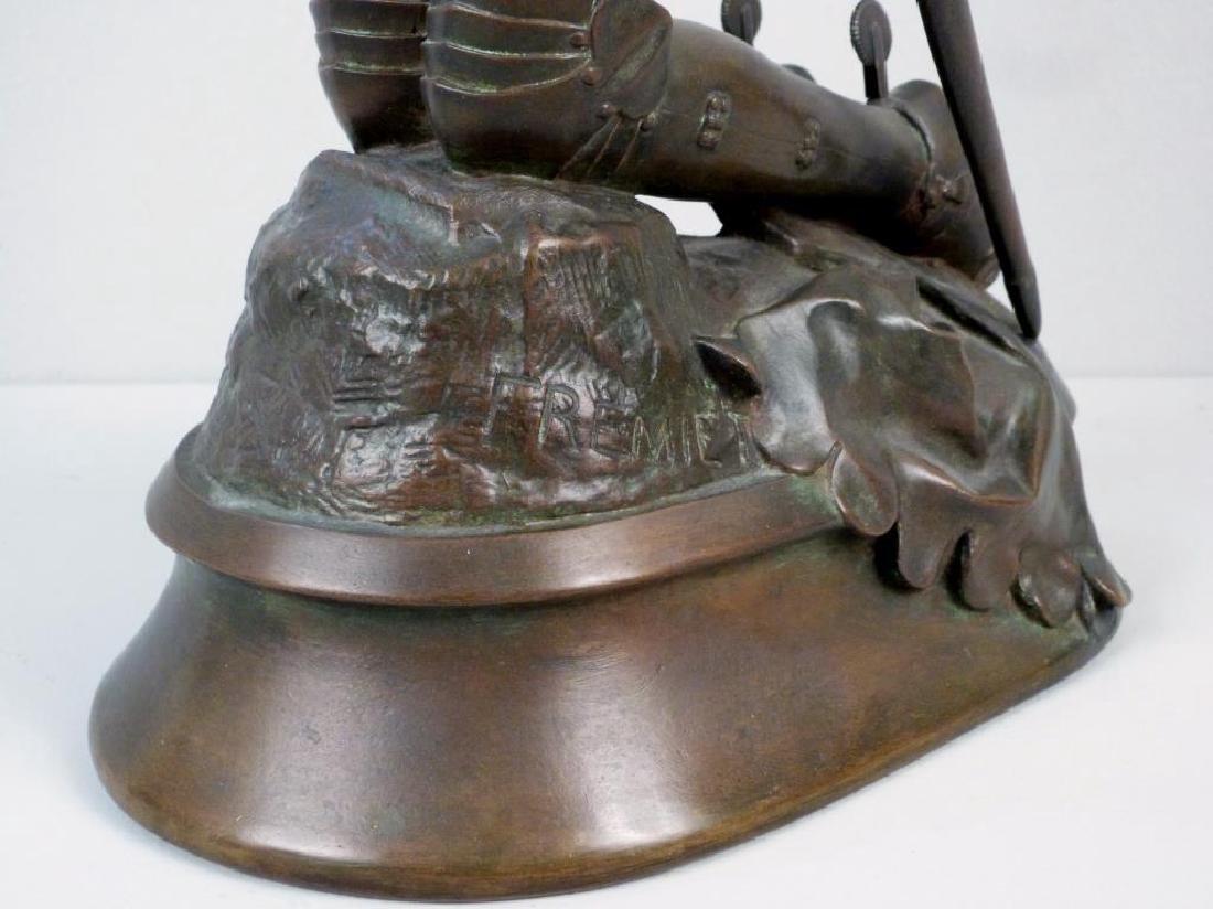 Emmanuel Fremiet, 1824-1910 - Bronze Sculpture - 5