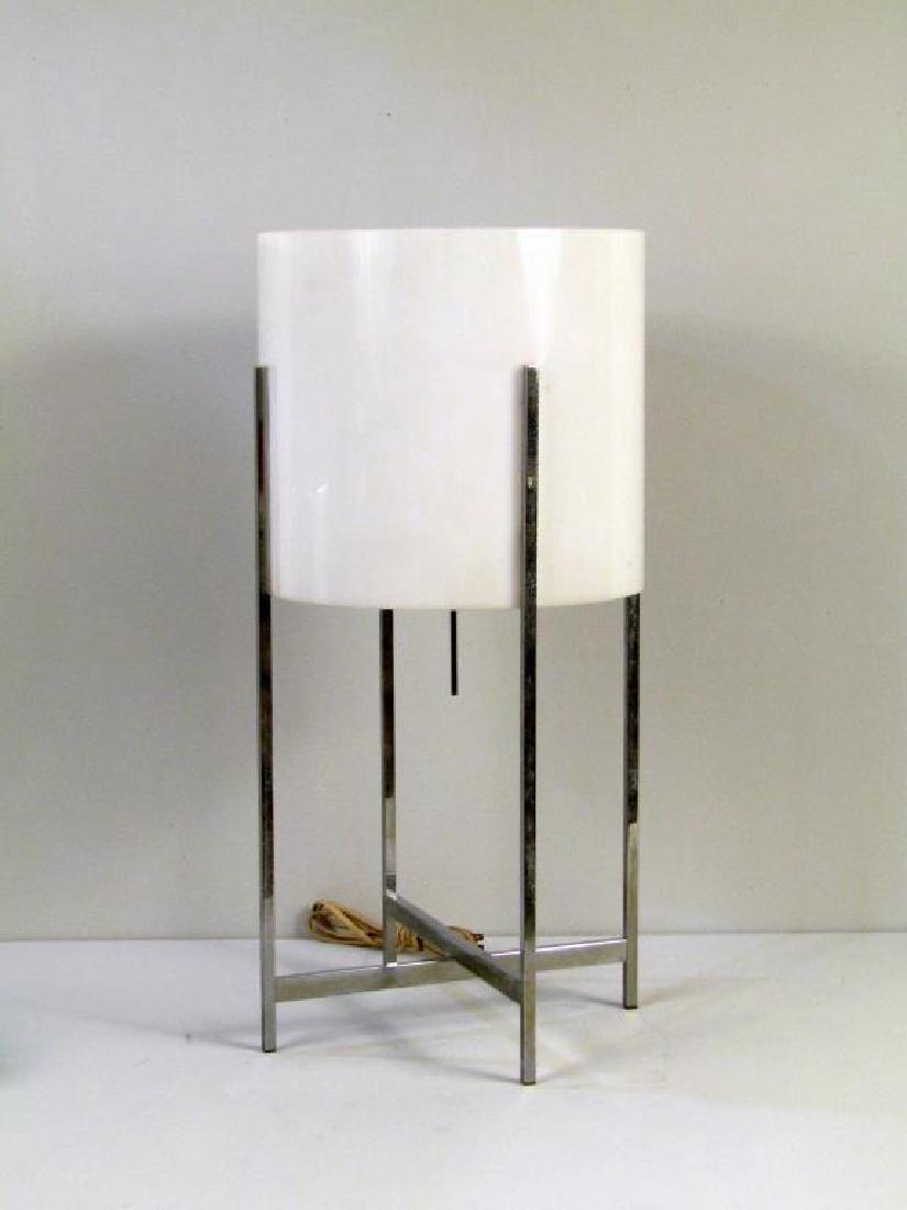 Mid-Century Modern Chrome Table Lamp