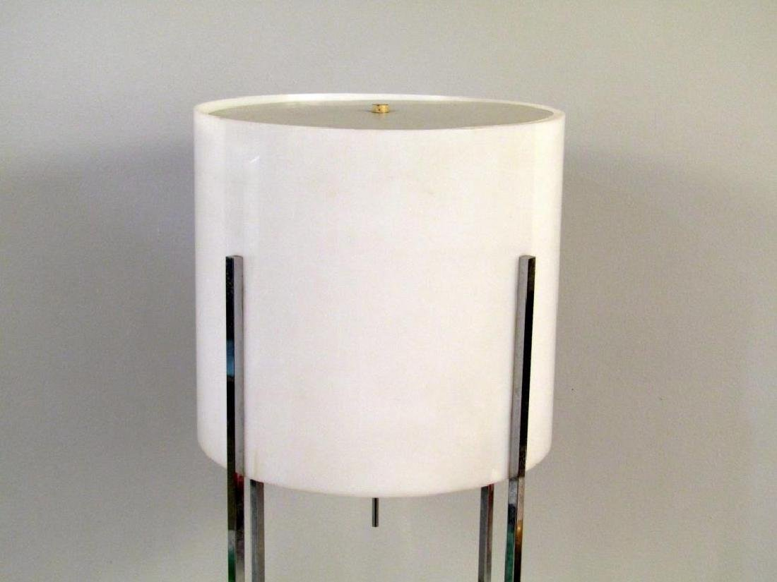 Mid-Century Modern Chrome Table Lamp - 2