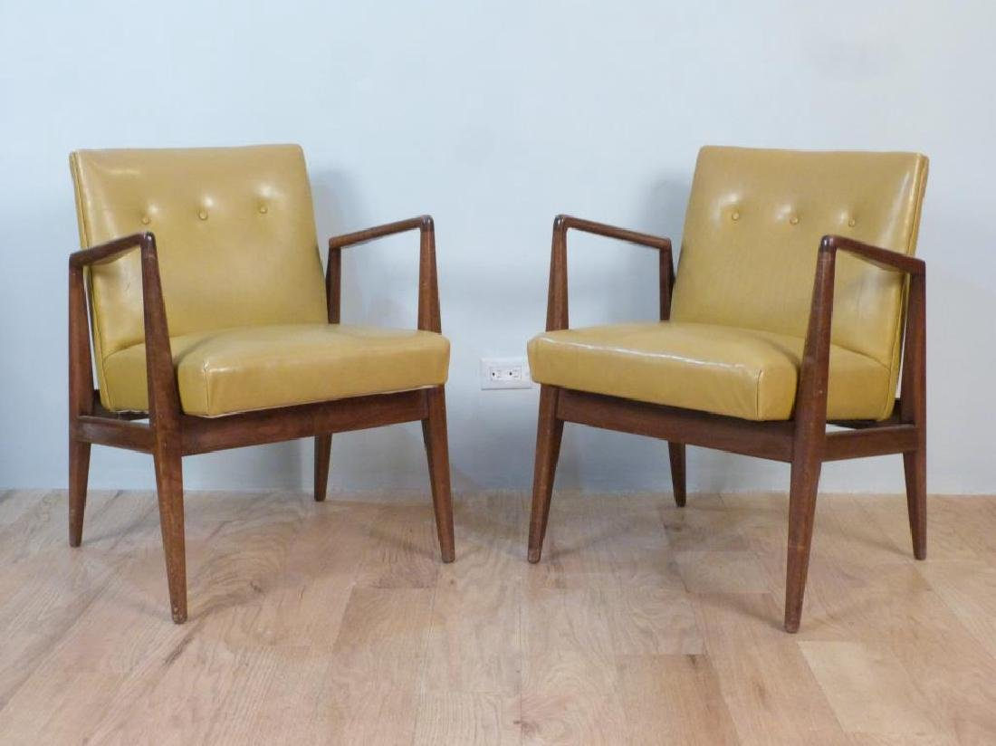 Set of 4 Jens Risom Dining Chairs