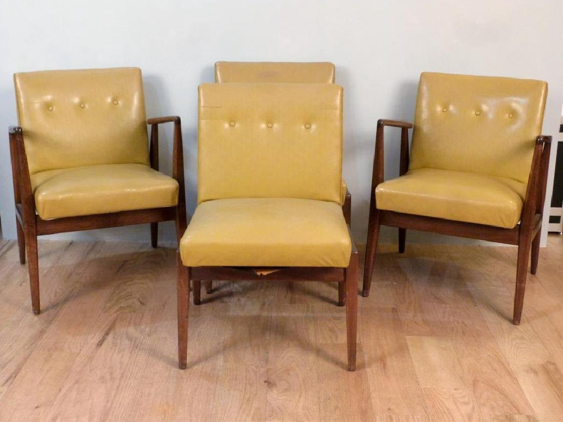 Set of 4 Jens Risom Dining Chairs - 3