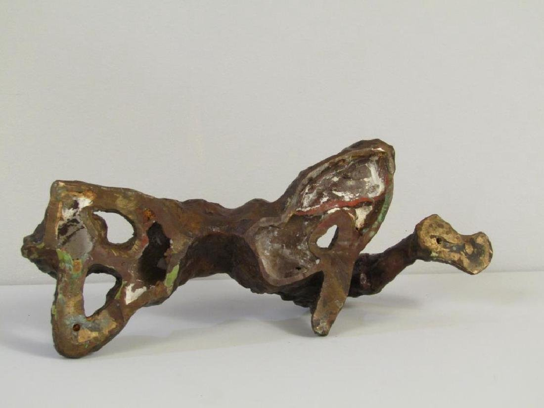 Abstract Figural Bronze Sculpture - 4