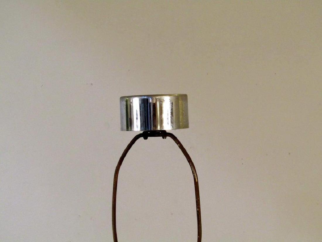 Modern Chrome and Metal Floor Lamp - 3