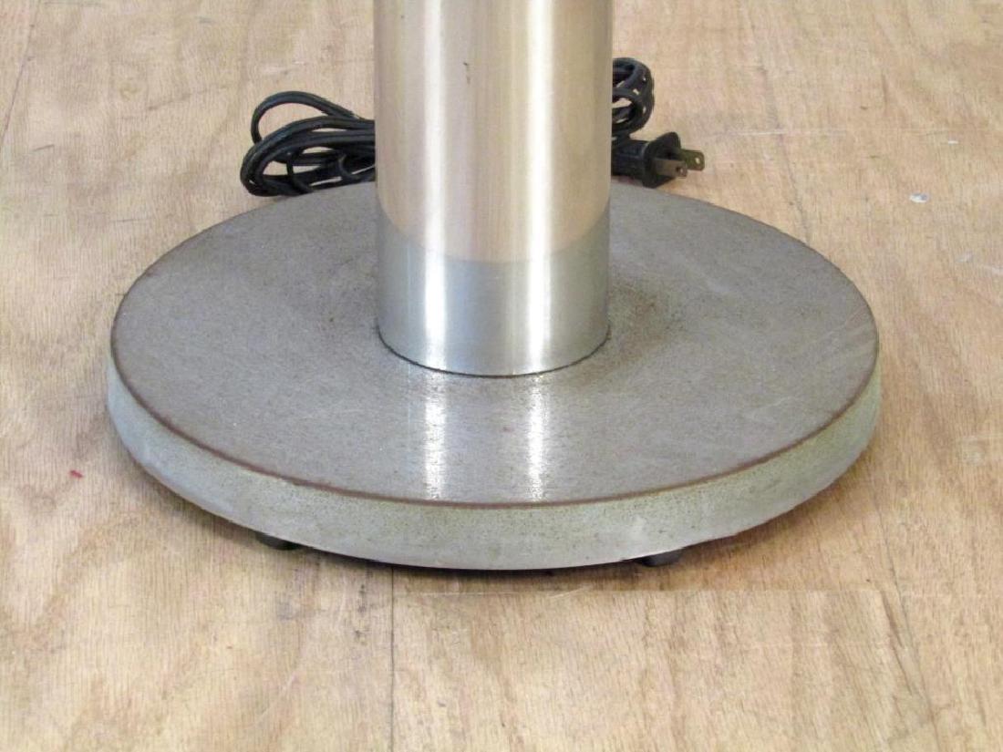 Modern Chrome and Metal Floor Lamp - 4