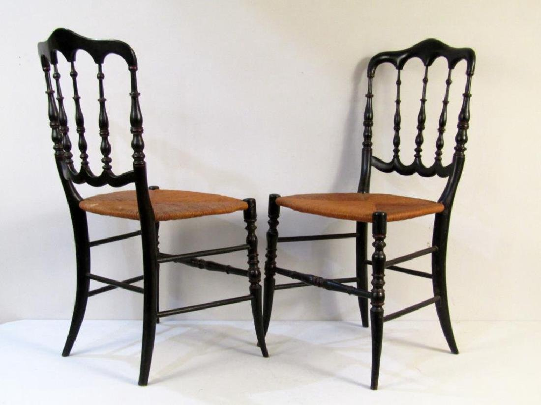 Pair of Victorian Style Side Chairs - 2